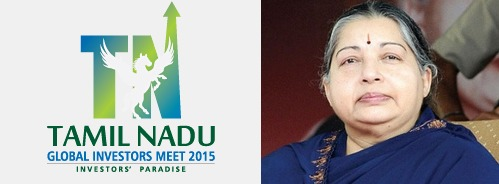 Tamil Nadu Global Investors Meet GIM 2015 - Banner