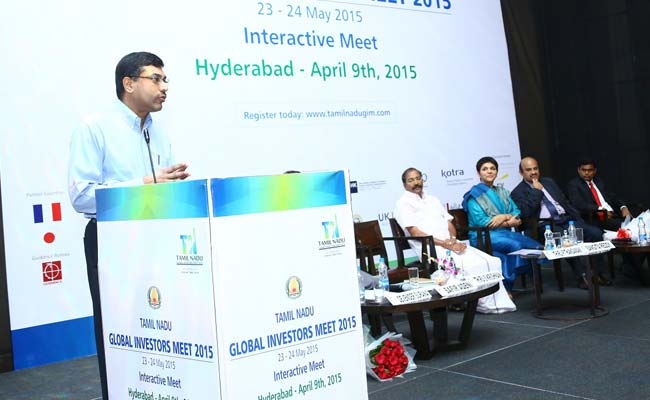 Tamil Nadu Global Investors Meet GIM 2015 -Interactive Meet